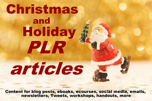 Christmas Articles.Christmas And Holiday Articles Plr Pack 1 Stress Less